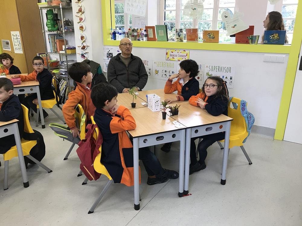 Huerto en Colegio Casa do Neno