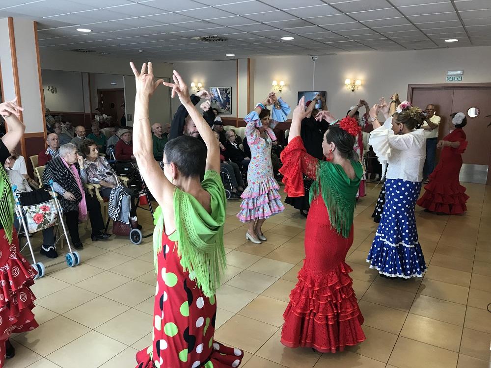 Actuación Grupo Sevillanas