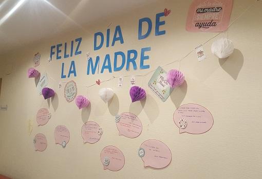 Mural Día de la Madre Stella Maris