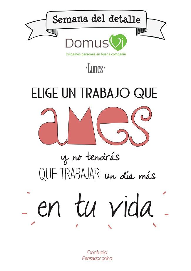 Semana del detalle en DomusVi Ciudad de Badajoz