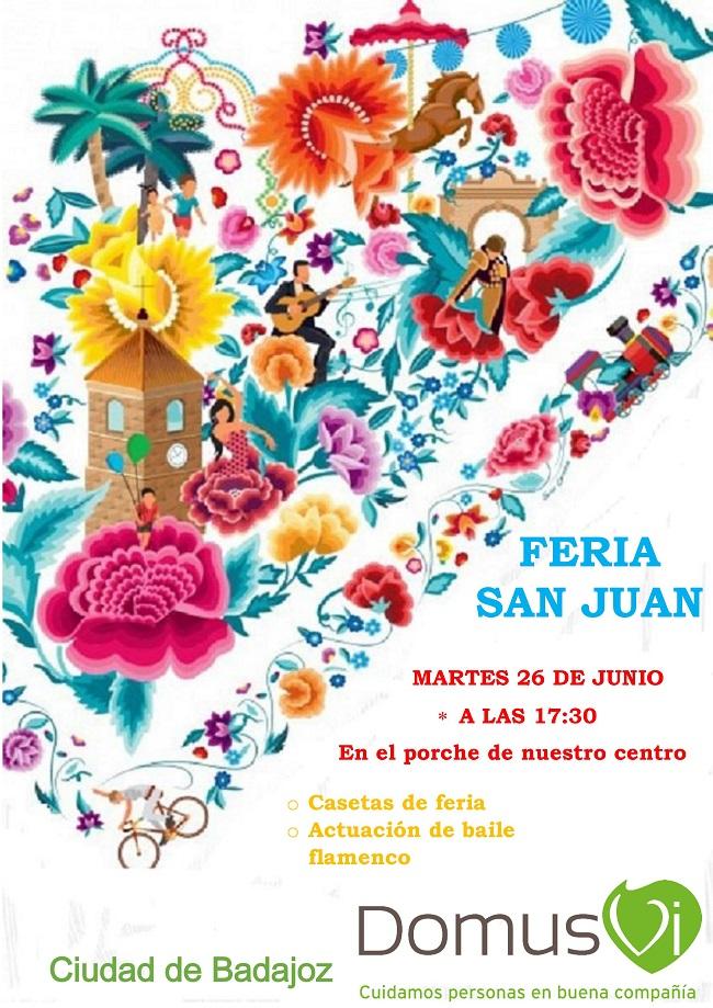 Feria San Juan en DomusVi Ciudad de Badajoz