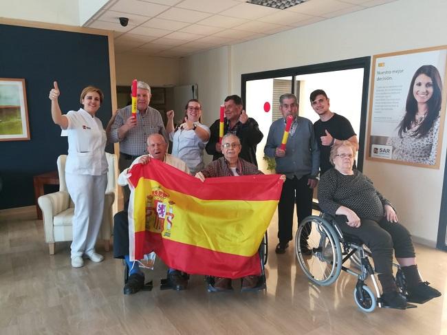 DomusVi Remedios con la selección española