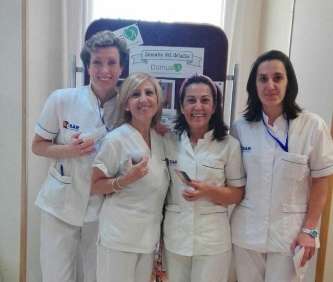 Lunes Semana del detalle en DomusVi Ciudad de Badajoz