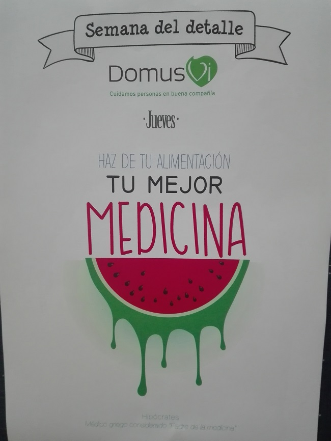 Semana del detalle en DomusVi Remedios