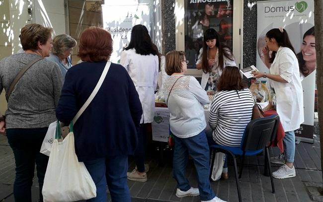 Stand de la salud DomusVi Ciudad de Badajoz