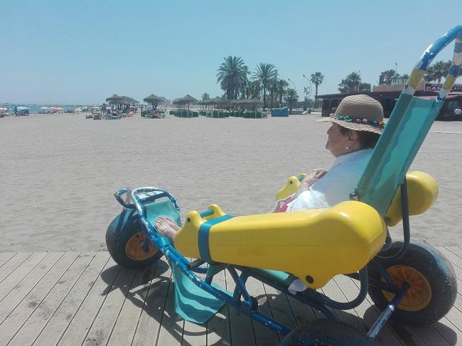 Excursión a la playa de DomusVi Remedios