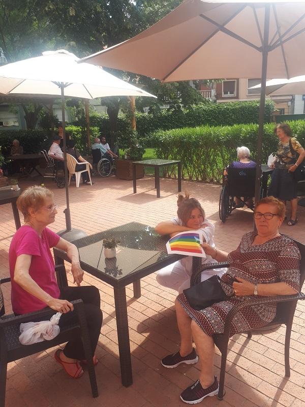 Parlem de LGTB a DomusVi Regina 1