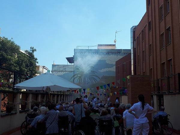 Revetlla de Sant Joan a DomusVi Regina8