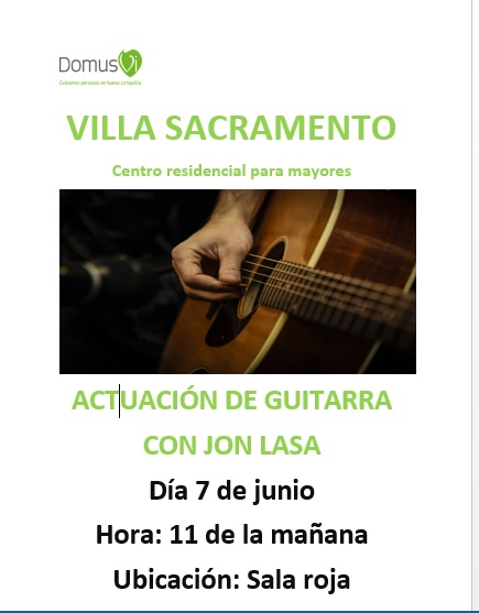 DomusVi Villa Sacramento San Sebastian