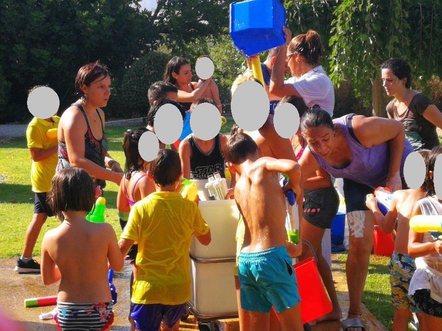Fiesta del agua 2018