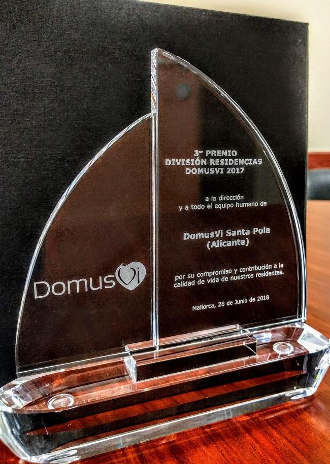 3 premio división residencias DomusVi 2017