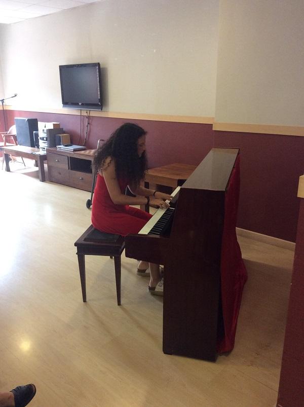 Concert de Piano a DomusVi Regina2