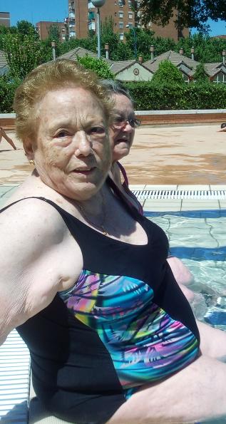 Día de piscina DomusVi Leganés (1)