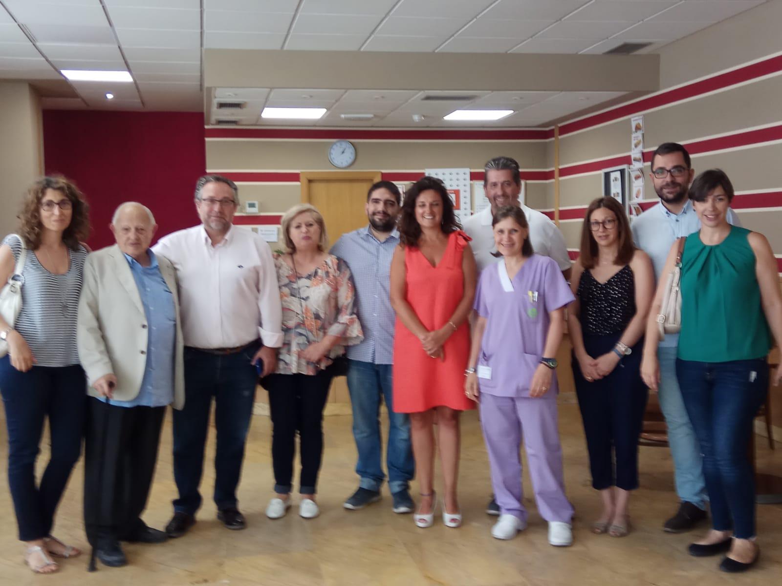 DomusVi Valdemoro. Aniversario. Visita corporación municipal (5)