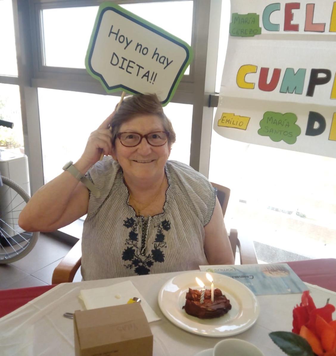 Cumpleaños DomusVi Mayores