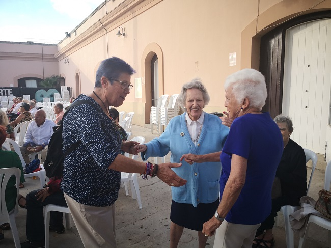 baile mayores Baluarte Candelaria Cádiz