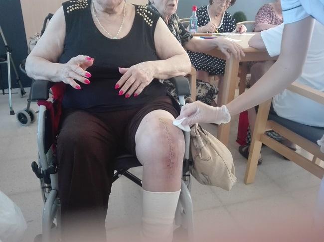 Cura de rodilla