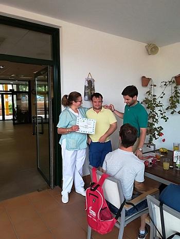 Prácticas en DomusVi Alcalá de Guadaíra de la AAEE