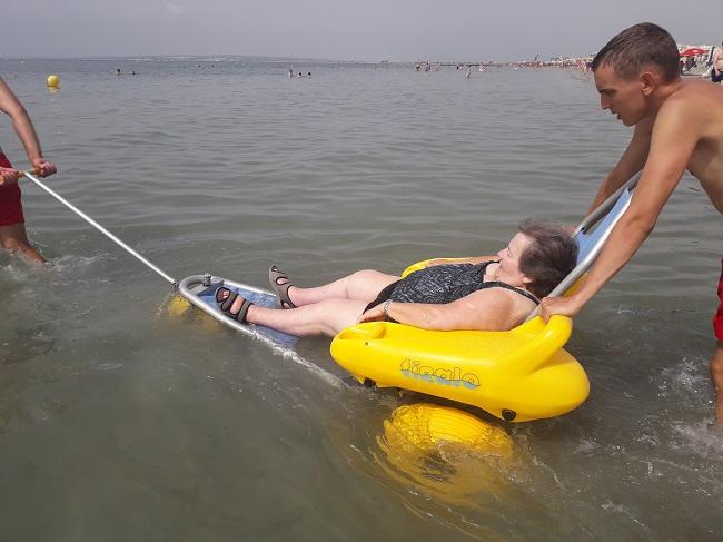 Salida a la playa de SP DomusVi Babel (2)