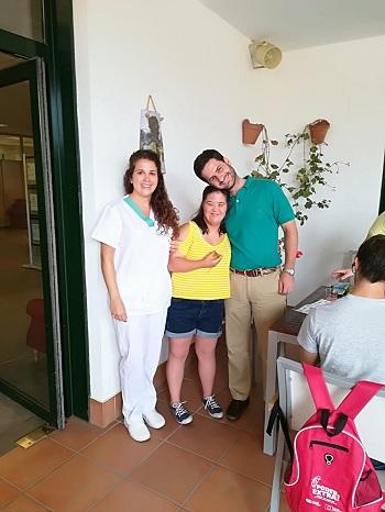 Terminan las prácticas de la AAEE en DomusVi Alcalá de Guadaíra