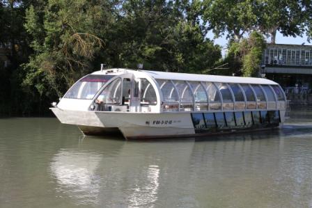 Barco turístico Aranjuez