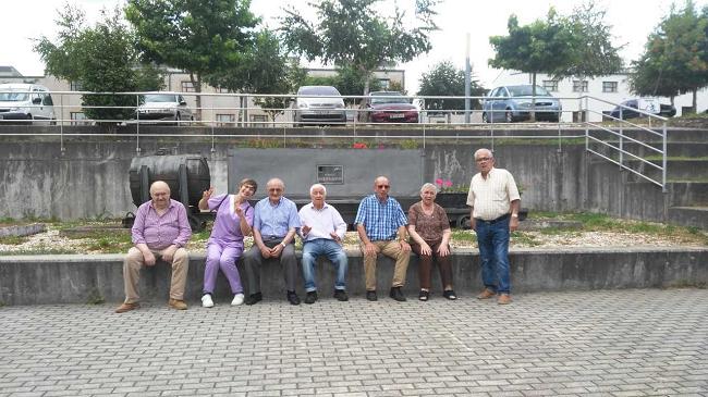 Excursión DomusVi Lalín al Museo de la Minería de Fontao.