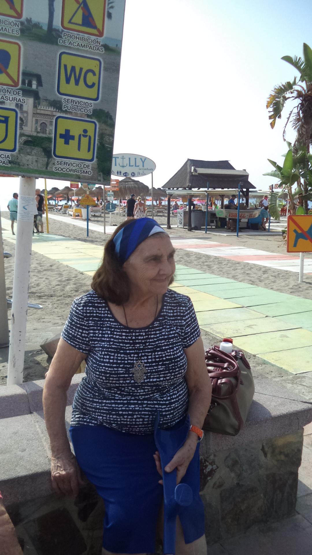 Playas de Torremolinos y los mayores