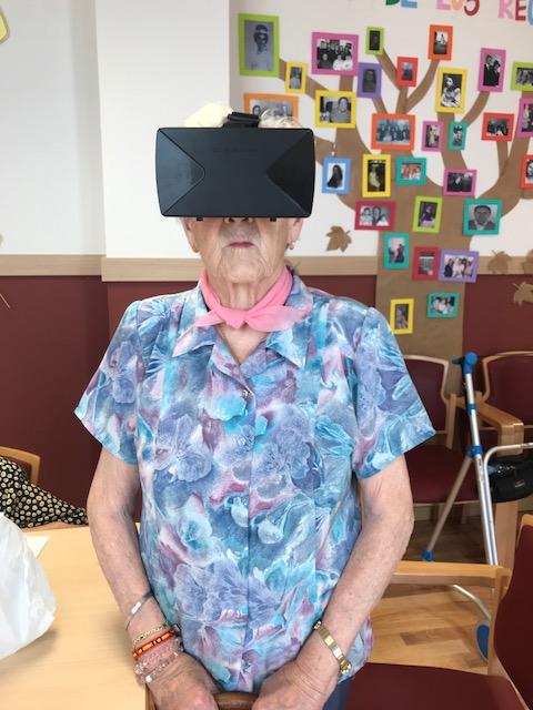 baile virtual DomusVi condes de Corbull 1
