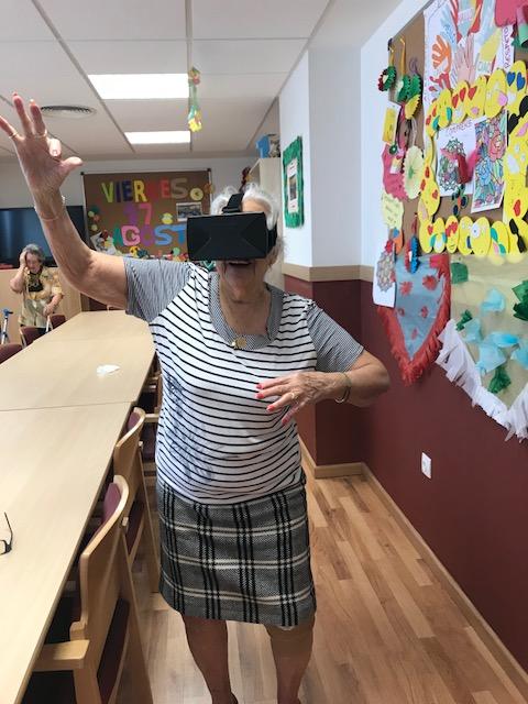 baile virtual DomusVi condes de Corbull 4