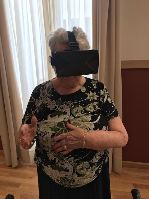 baile virtual DomusVi condes de Corbull 5