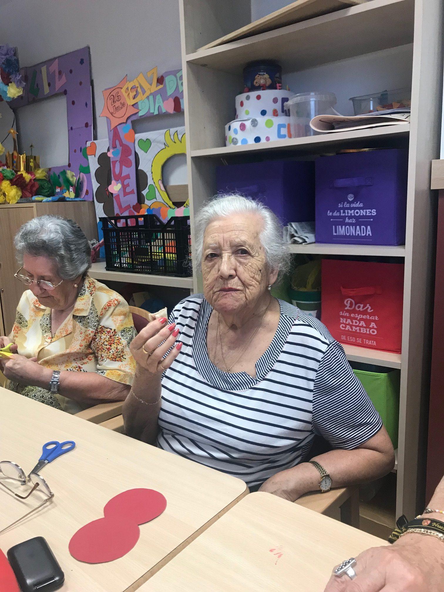 taller de cocina en DomusVi Condes de Corbull 10
