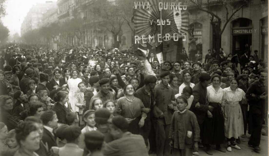 1918 ambiente de regatas