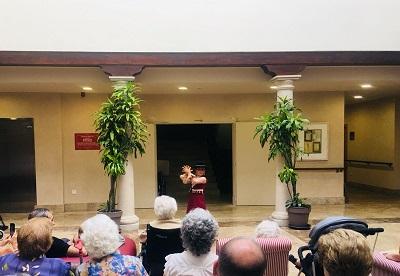 Baile Flamenco en DomusVi Condes de Corbull 2