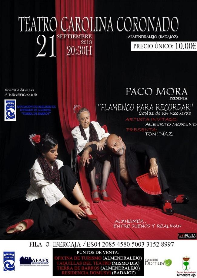 Flamenco para recordar cartel