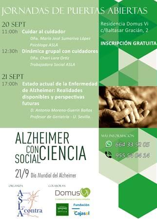 Jornadas sobre el Alzheimer DomusVi Santa Justa