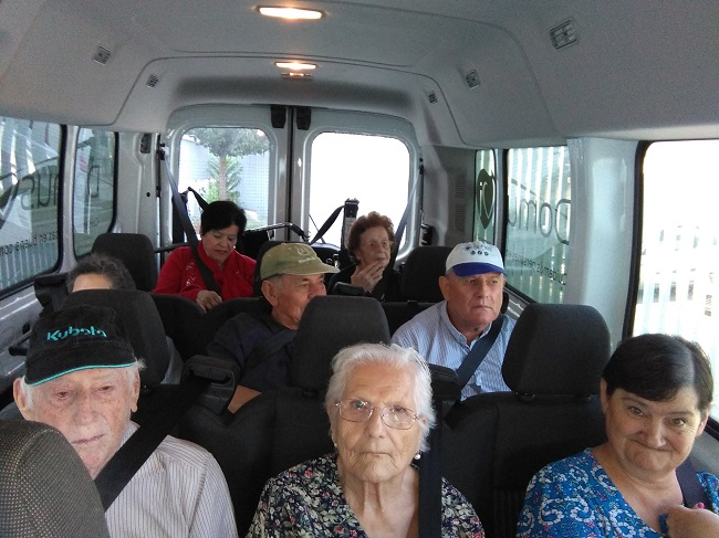 excursión residencia de mayores