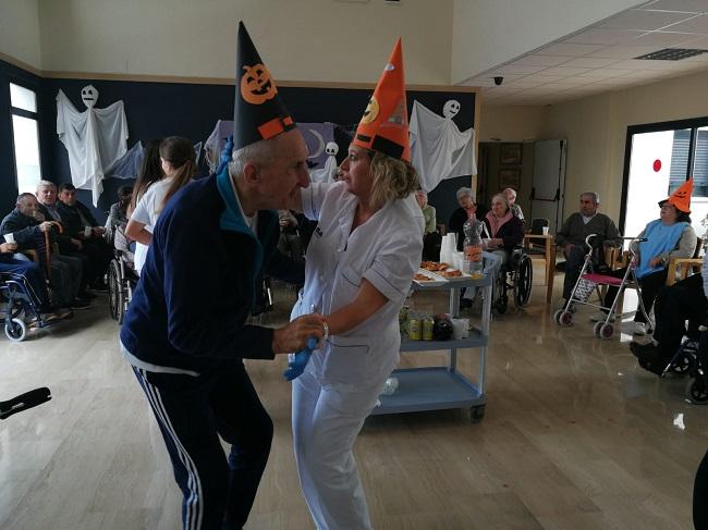 Fiesta de halloween en DomusVi Remedios