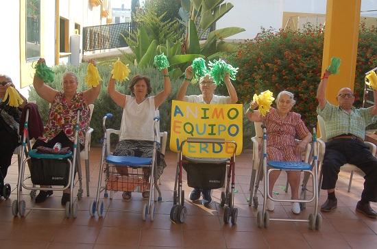 Todos animamos en DomusVi Alcalá de Guadaíra