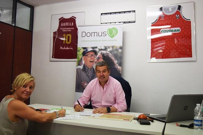 DomusVi y CB Granada