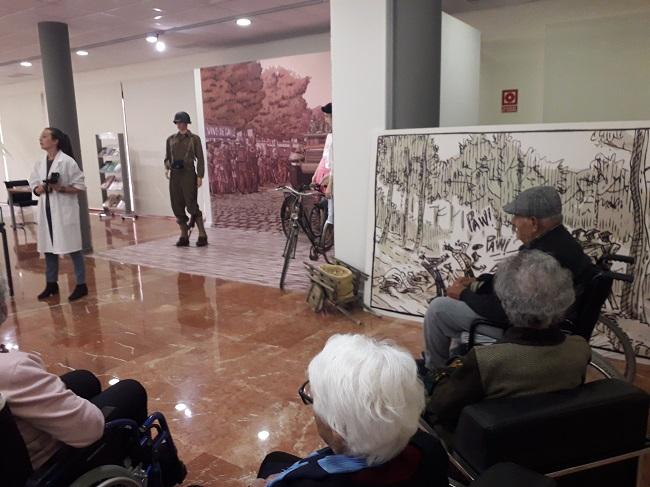 DomusVi visita el archivo de Alicante (1)