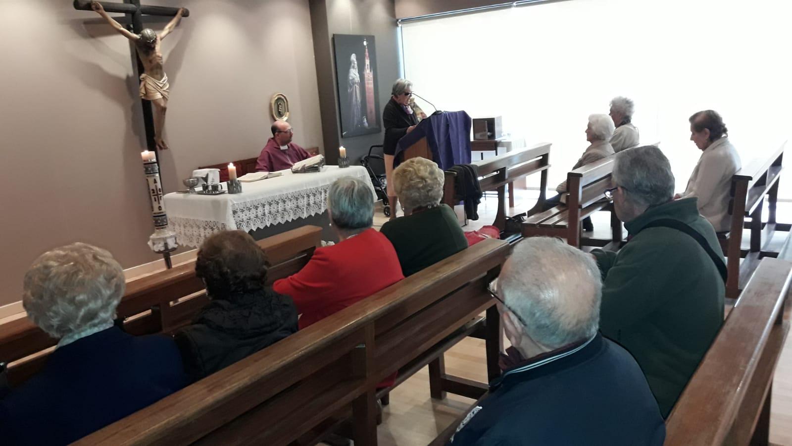 Eucaristia especial difuntos DomusVi Santa Justa 2