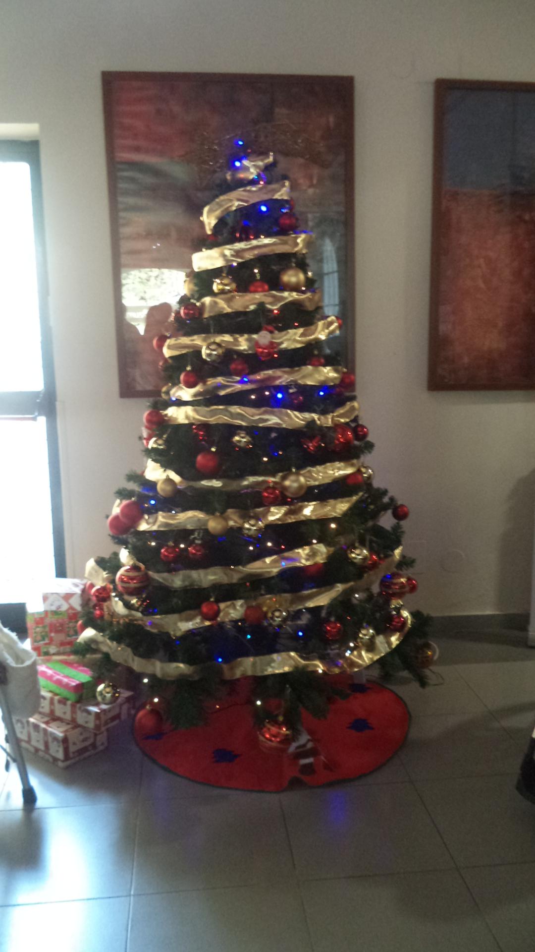 Navidad en la residencia de mayores DomusVi Fuentesol