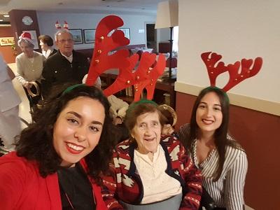 Dinamizacion especial navidad DomusVi Santa Justa 4