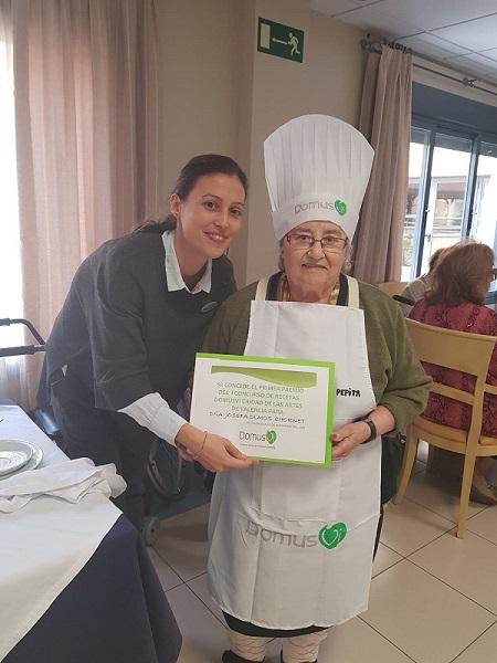 DomusVi C. Artes I Concurso Recetas Cocina 1