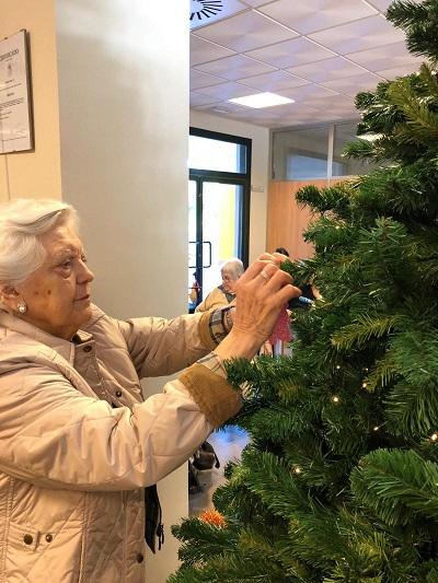 Espíritu navideño en DomusVi Alcalá de Guadaíra