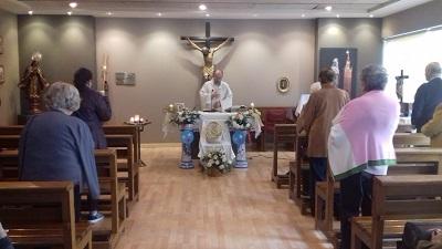 Eucaristía misa del gallo DomusVi Santa Justa 1
