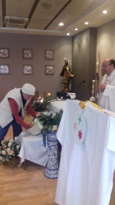 Eucaristía misa del gallo DomusVi Santa Justa 4