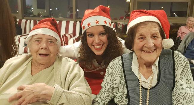 Gerontogimnasia en Navidad19