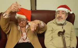 Gerontogimnasia en Navidad5