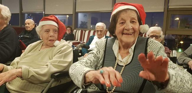 Gerontogimnasia en Navidad9
